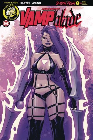 Vampblade, Season Four #3 (Costa Cover)