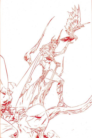 Red Sonja #20 (35 Copy Jae Lee Tint Virgin Cover)