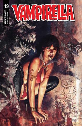 Vampirella #19 (Mastrazzo Cover)