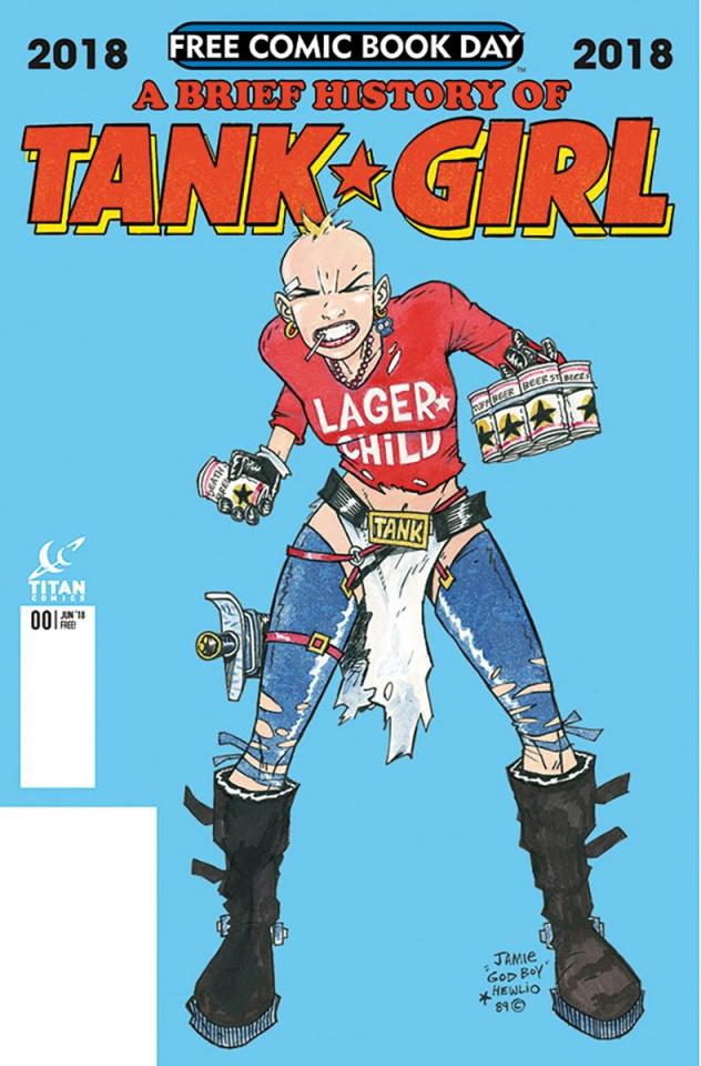 A Brief History of Tank Girl FCBD 2018 Special