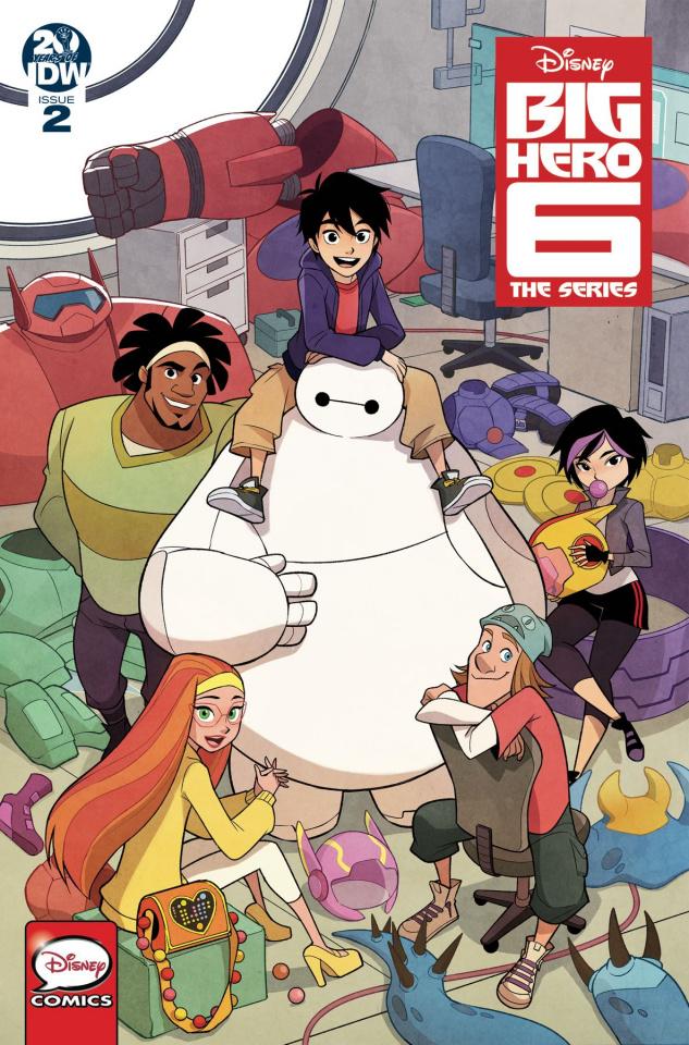 Big Hero 6 #2 (Gurihiru Cover)