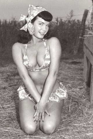 Bettie Page #2 (10 Copy Photo Virgin Cover)