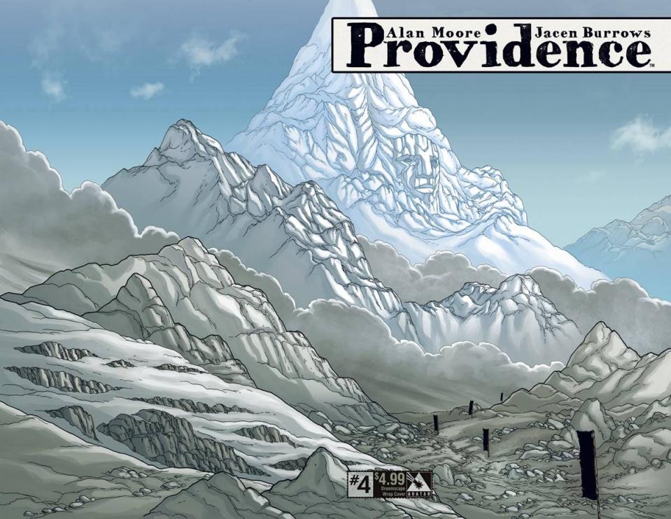Providence #4 (Dreamscape Wrap Cover)