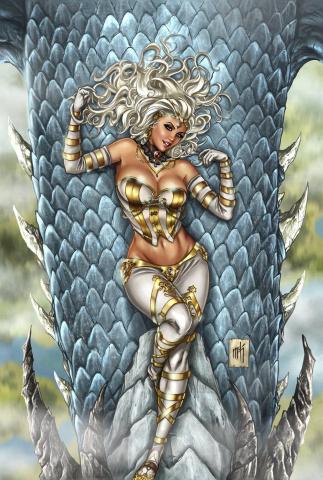 Grimm Fairy Tales: Wonderland #35 (Krome Cover)