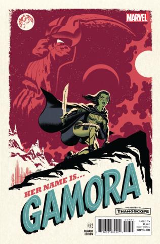 Gamora #3 (Cho Cover)