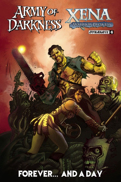 Army of Darkness / Xena: Forever... And A Day #6 (Moritat Cover)