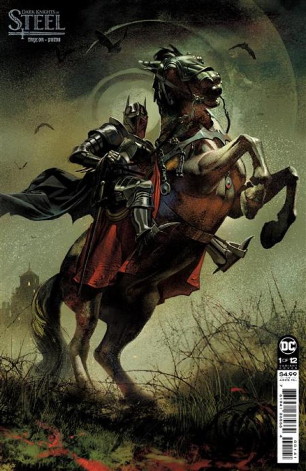 Dark Knights of Steel #1 (Joshua Middleton Card Stock Cover)