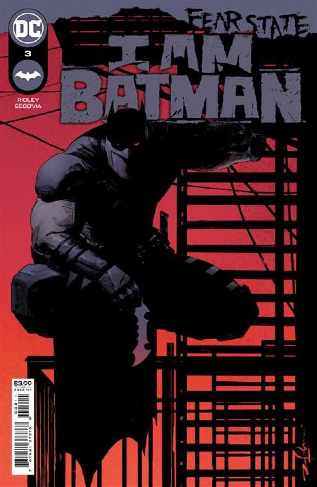 I am Batman #3 (Gerardo Zaffino Cover)