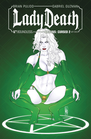 Lady Death Origins: Cursed #2 (Art Deco Cover)