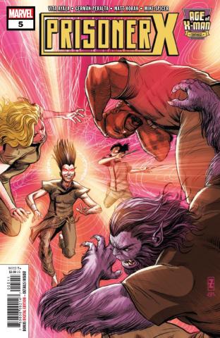 Age of X-Man: Prisoner X #5
