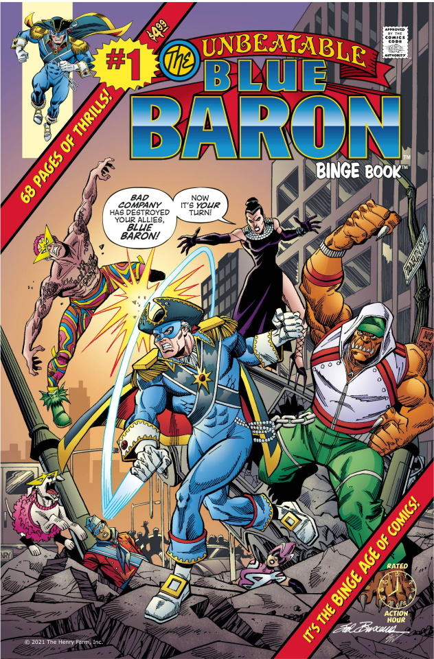 Blue Baron #1: Everything Old Is New Again