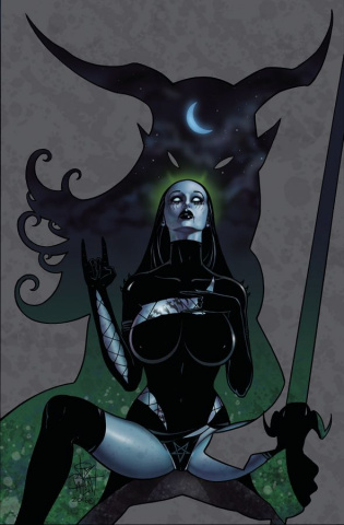 Tarot: Witch of the Black Rose #102
