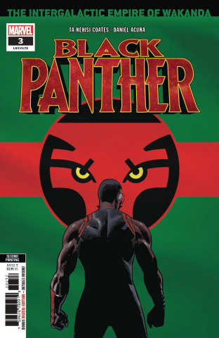 Black Panther #3 (Acuna 2nd Printing)