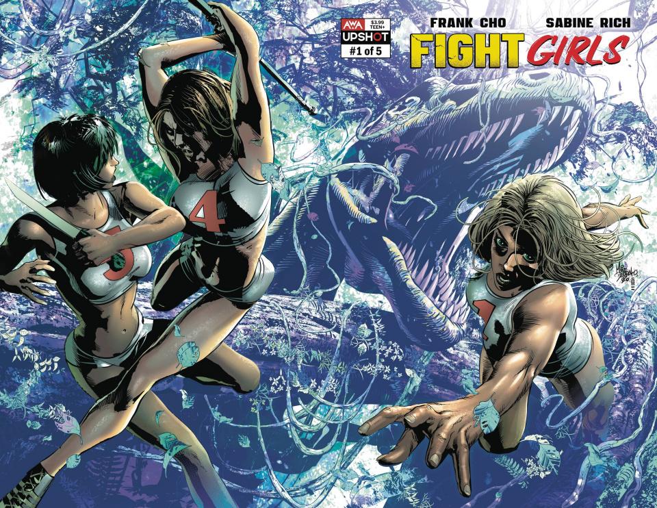 Fight Girls #1 (Deodato Jr Cover)