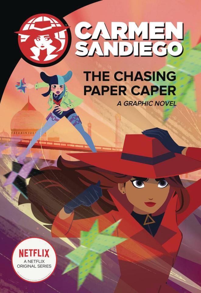 Carmen Sandiego Vol. 3: The Chasing Paper Caper