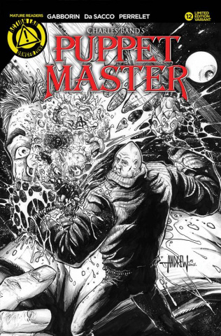 Puppet Master #12 (Sketch Kill Cover)