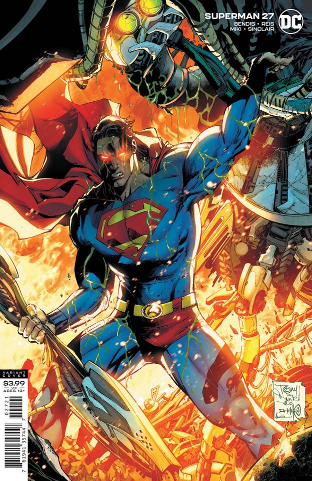 Superman #27 (Tony S Daniel & Danny Miki Cover)