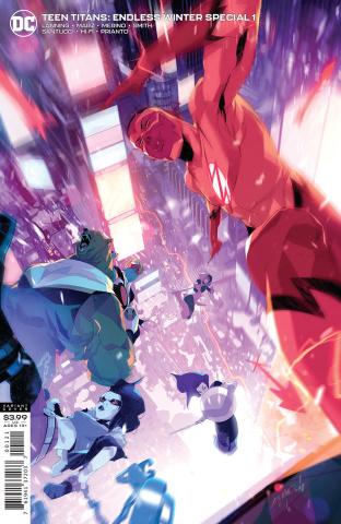 Teen Titans: Endless Winter Special #1 (Simone Di Meo Cover)