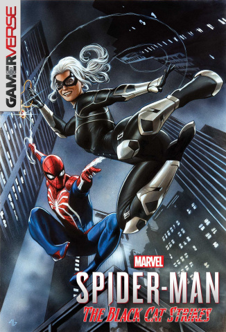 Spider-Man: The Black Cat Strikes #1 (Granov Game Cover)