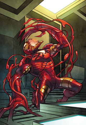 Tony Stark: Iron Man #14 (Ferry Carnage-ized Cover)