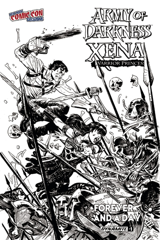 Army of Darkness / Xena: Forever... And a Day #1 (NYCC Cover)