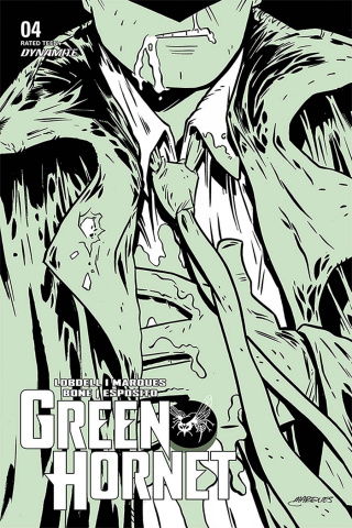 Green Hornet #4 (Marques Cover)