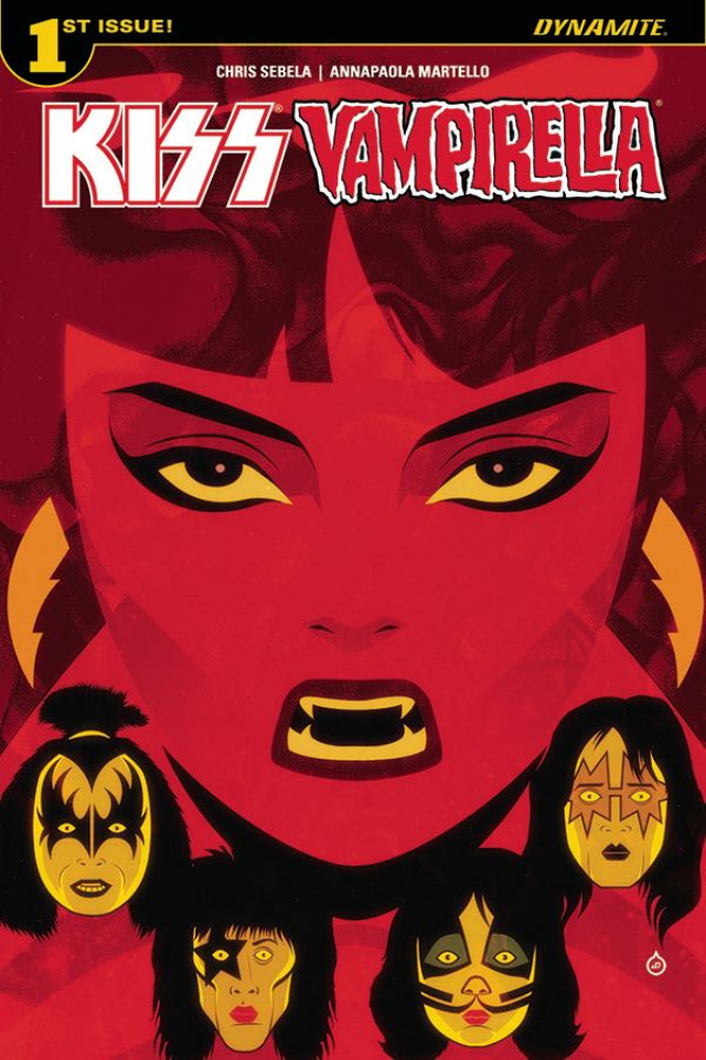 KISS / Vampirella #1 (Doe Cover)