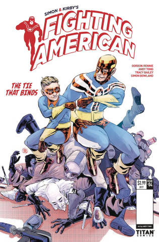 Fighting American: The Ties That Bind #4 (Tong Cover)