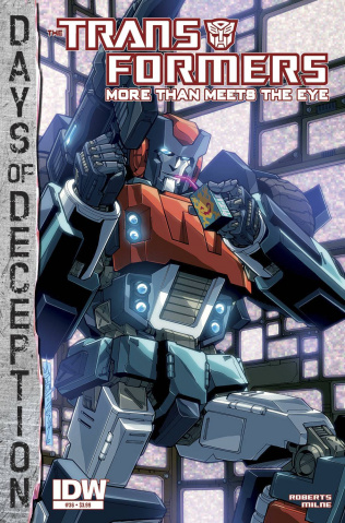 The Transformers: More Than Meets the Eye #36: Days of Deception
