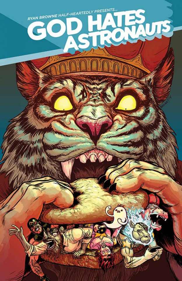 God Hates Astronauts #4 (Browne Cover)