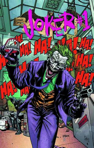 Batman #23.1: The Joker Standard Cover