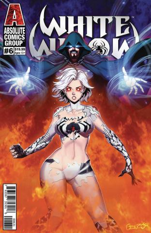 White Widow #6 (Genzoman Wraparound Lenticular Cover)