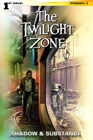 The Twilight Zone: Shadow & Substance #1 (Lau Subscription Cover)