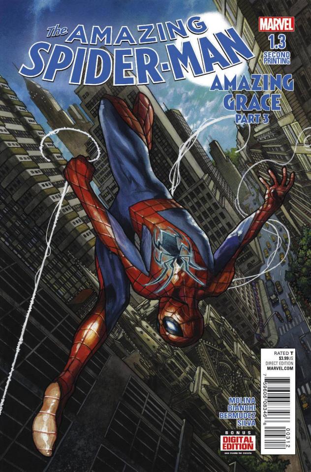 The Amazing Spider-Man #1.3 (Bianchi 2nd Printing)