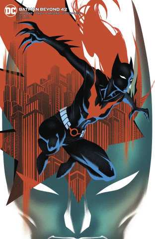 Batman Beyond #42 (Francis Manapul Cover)