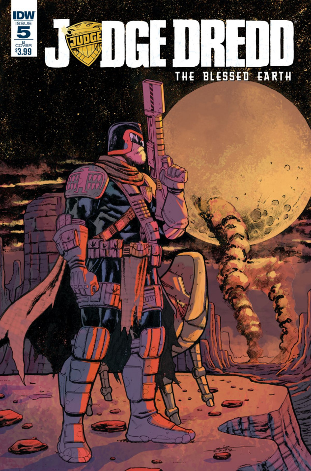 Judge Dredd: The Blessed Earth #5 (Oezgen Cover)