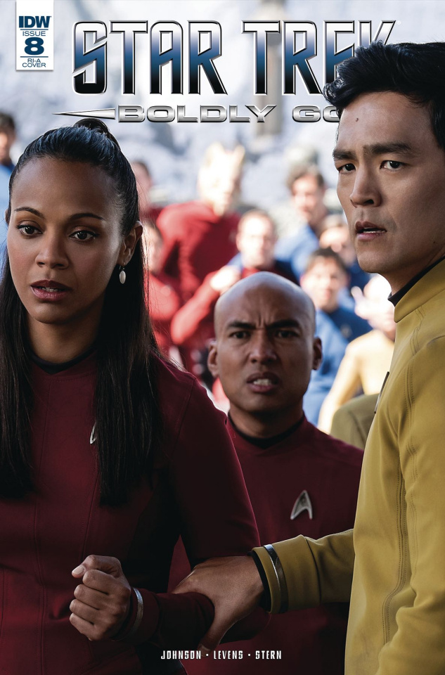 Star Trek: Boldly Go #8 (25 Copy Cover)