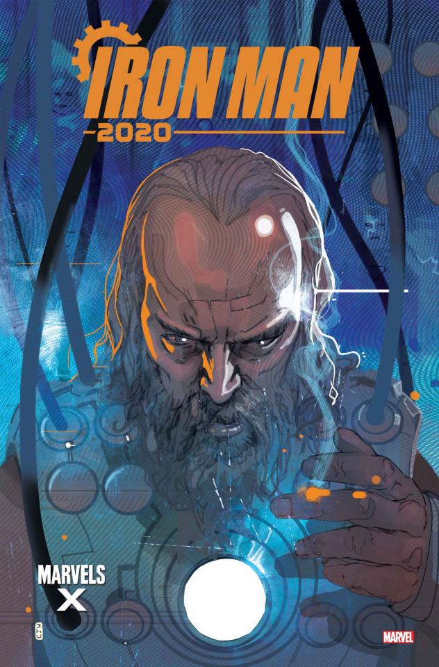 Iron Man 2020 #1 (Ward Marvels X Cover)