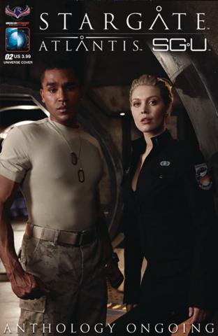 Stargate Atlantis / Stargate Universe Anthology #2 (SGU Photo Cover)
