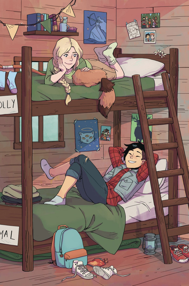 Lumberjanes #45 (Subscription Wong Cover)