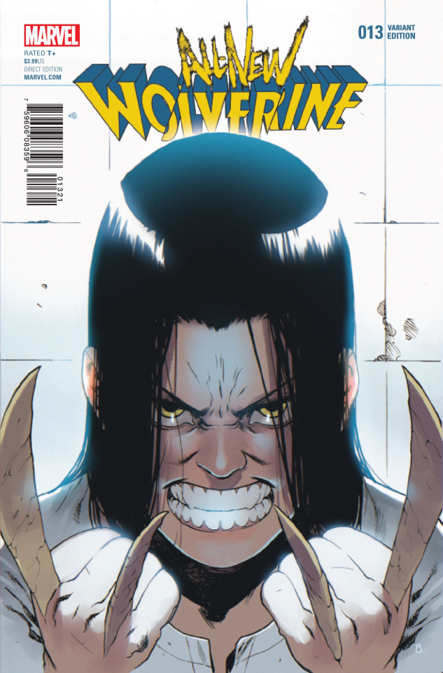 All-New Wolverine #13 (Bengal Connecting Cover)