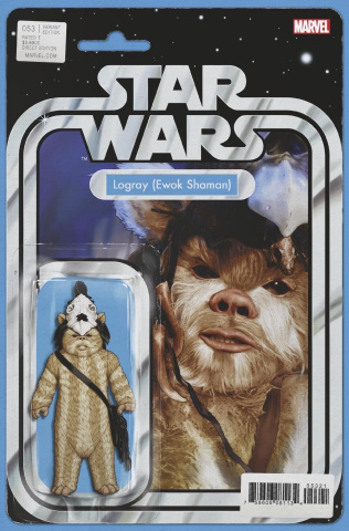 Star Wars #53 (Christopher Action Figure Cover)
