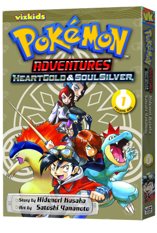 Pokémon Adventures: HeartGold & SoulSilver Vol. 1