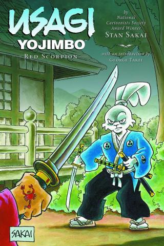 Usagi Yojimbo Vol. 28: Red Scorpion