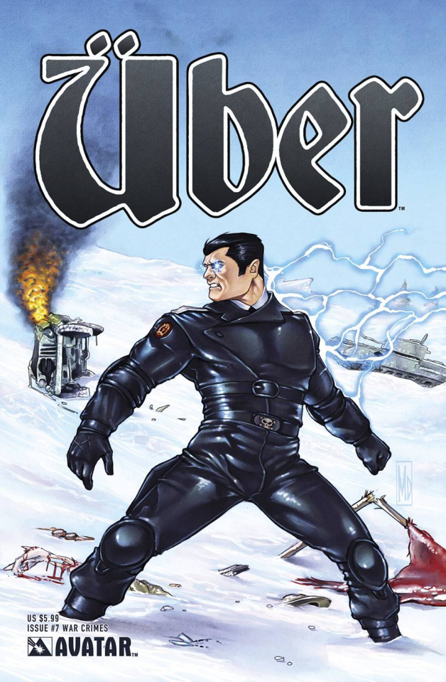 Über #7 (War Crimes Cover)
