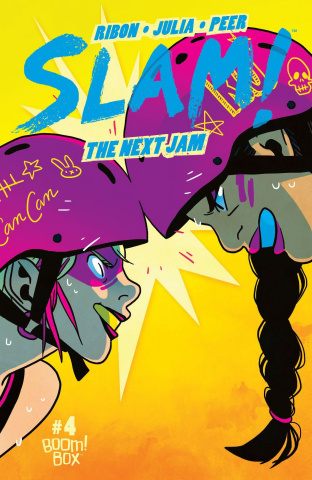 SLAM! The Next Jam #4 (Subscription Bartel Cover)