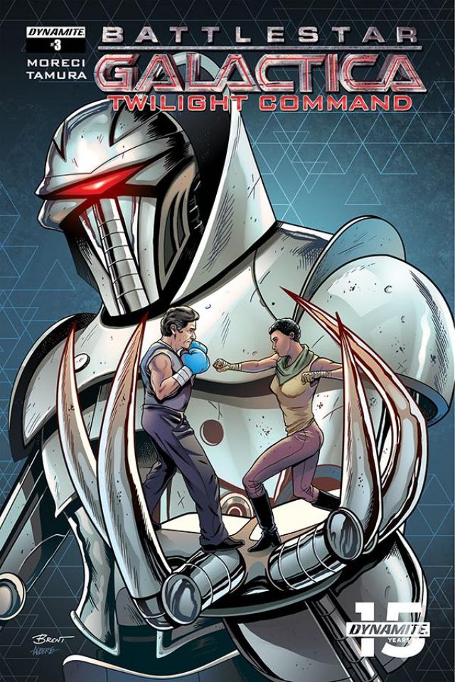 Battlestar Galactica: Twilight Command #3 (Schoonover Cover)