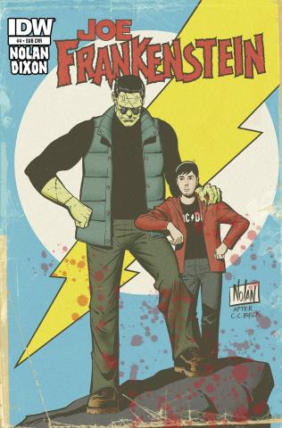 Joe Frankenstein #4 (Subscription Cover)