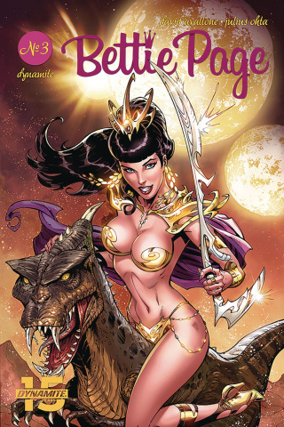 Bettie Page: Unbound #3 (Royle Cover)