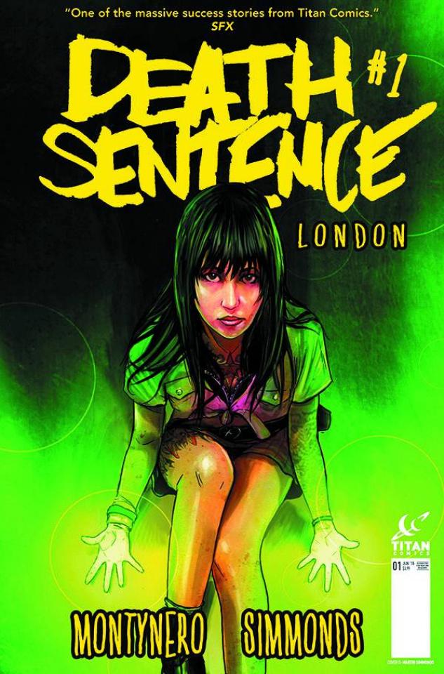 Death Sentence: London #1 (Subscription Simmonds Cover)